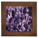 Agate Naturalpurple Stone Framed Tiles
