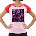 Agate Naturalpurple Stone Women s Cap Sleeve T-Shirt