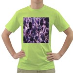 Agate Naturalpurple Stone Green T-Shirt