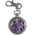 Agate Naturalpurple Stone Key Chain Watches