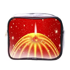 Advent Candle Star Christmas Mini Toiletries Bags by Nexatart