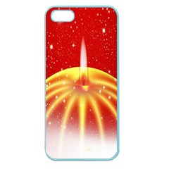 Advent Candle Star Christmas Apple Seamless Iphone 5 Case (color)