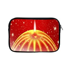 Advent Candle Star Christmas Apple Ipad Mini Zipper Cases by Nexatart