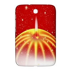 Advent Candle Star Christmas Samsung Galaxy Note 8 0 N5100 Hardshell Case