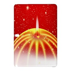 Advent Candle Star Christmas Samsung Galaxy Tab Pro 12 2 Hardshell Case by Nexatart