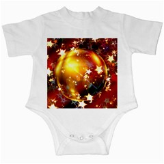 Advent Star Christmas Infant Creepers by Nexatart