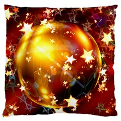 Advent Star Christmas Standard Flano Cushion Case (two Sides)