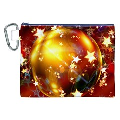 Advent Star Christmas Canvas Cosmetic Bag (xxl) by Nexatart