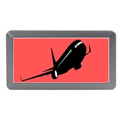 Air Plane Boeing Red Black Fly Memory Card Reader (mini) by Alisyart