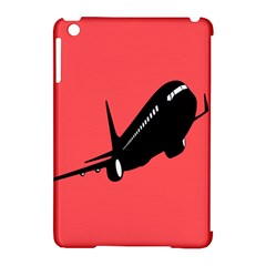 Air Plane Boeing Red Black Fly Apple Ipad Mini Hardshell Case (compatible With Smart Cover) by Alisyart