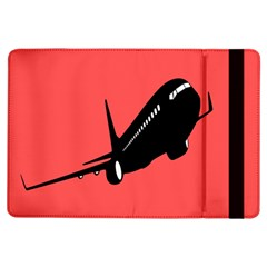 Air Plane Boeing Red Black Fly Ipad Air Flip by Alisyart