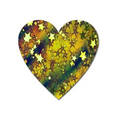 Advent Star Christmas Heart Magnet by Nexatart