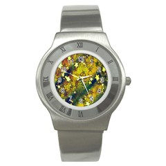 Advent Star Christmas Stainless Steel Watch by Nexatart
