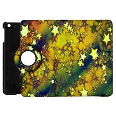 Advent Star Christmas Apple Ipad Mini Flip 360 Case by Nexatart