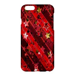 Advent Star Christmas Poinsettia Apple Iphone 6 Plus/6s Plus Hardshell Case