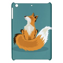 Animal Wolf Orange Fox Apple Ipad Mini Hardshell Case by Alisyart