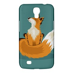 Animal Wolf Orange Fox Samsung Galaxy Mega 6 3  I9200 Hardshell Case by Alisyart