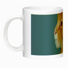 Animals Face Cat Night Luminous Mugs