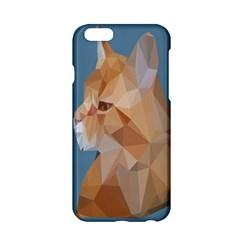 Animals Face Cat Apple iPhone 6/6S Hardshell Case by Alisyart