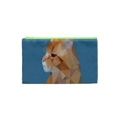 Animals Face Cat Cosmetic Bag (xs) by Alisyart