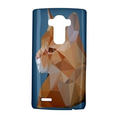 Animals Face Cat Lg G4 Hardshell Case by Alisyart