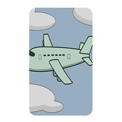Airplane Fly Cloud Blue Sky Plane Jpeg Memory Card Reader by Alisyart