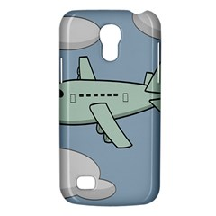 Airplane Fly Cloud Blue Sky Plane Jpeg Galaxy S4 Mini by Alisyart