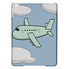 Airplane Fly Cloud Blue Sky Plane Jpeg Ipad Air Hardshell Cases by Alisyart