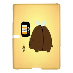 Bear Meet Bee Honey Animals Yellow Brown Samsung Galaxy Tab S (10 5 ) Hardshell Case