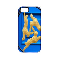 Animal Hare Window Gold Apple Iphone 5 Classic Hardshell Case (pc+silicone)
