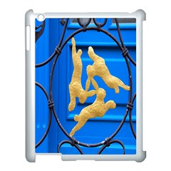 Animal Hare Window Gold Apple Ipad 3/4 Case (white) by Nexatart