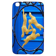 Animal Hare Window Gold Samsung Galaxy Tab 3 (8 ) T3100 Hardshell Case