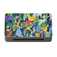 Animated Safari Animals Background Memory Card Reader With Cf