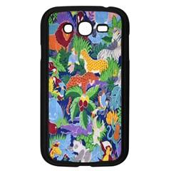 Animated Safari Animals Background Samsung Galaxy Grand Duos I9082 Case (black)