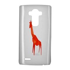 Animal Giraffe Orange Lg G4 Hardshell Case
