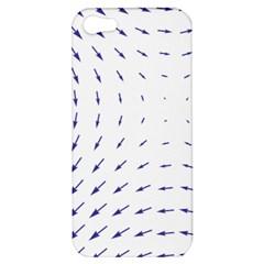 Arrows Blue Apple Iphone 5 Hardshell Case by Alisyart