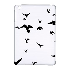 Bird Fly Black Apple Ipad Mini Hardshell Case (compatible With Smart Cover) by Alisyart