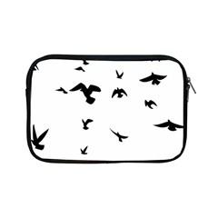 Bird Fly Black Apple Ipad Mini Zipper Cases by Alisyart