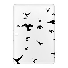 Bird Fly Black Samsung Galaxy Tab Pro 12 2 Hardshell Case by Alisyart