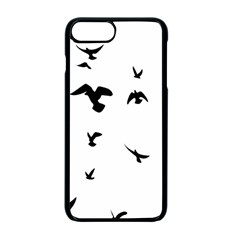 Bird Fly Black Apple iPhone 7 Plus Seamless Case (Black) by Alisyart