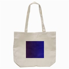 Calm Wave Blue Flag Tote Bag (cream)