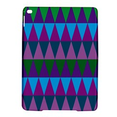 Blue Greens Aqua Purple Green Blue Plums Long Triangle Geometric Tribal Ipad Air 2 Hardshell Cases by Alisyart