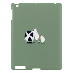 Cow Chicken Eggs Breeding Mixing Dominance Grey Animals Apple Ipad 3/4 Hardshell Case by Alisyart