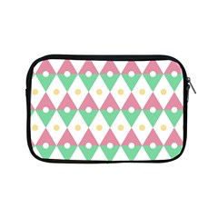 Diamond Green Circle Yellow Chevron Wave Apple Ipad Mini Zipper Cases by Alisyart