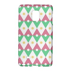 Diamond Green Circle Yellow Chevron Wave Galaxy Note Edge by Alisyart