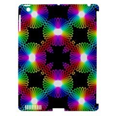 Circle Color Flower Apple Ipad 3/4 Hardshell Case (compatible With Smart Cover) by Alisyart