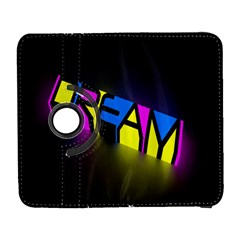Dream Colors Neon Bright Words Letters Motivational Inspiration Text Statement Galaxy S3 (flip/folio) by Alisyart
