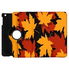 Dried Leaves Yellow Orange Piss Apple Ipad Mini Flip 360 Case by Alisyart