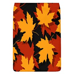 Dried Leaves Yellow Orange Piss Flap Covers (l)  by Alisyart