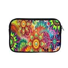 Colorful Abstract Flower Floral Sunflower Rose Star Rainbow Apple Macbook Pro 13  Zipper Case by Alisyart